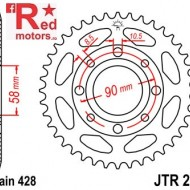 Foaie/pinion spate JTR269.56 428 cu 56 de dinti pentru ATU Hipster 125, Daelim VJ 125
