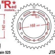 Foaie/pinion spate JTR3.42 525 cu 42 de dinti pentru BMW F 650 800, BMW F 800 800