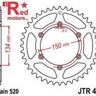 Foaie/pinion spate JTR460.43 520 cu 43 de dinti pentru Kawasaki KLX 250, KLX 300, KLX 450