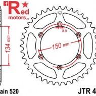 Foaie/pinion spate JTR460.49 520 cu 49 de dinti pentru Kawasaki KLX 250, KLX 300, KLX 450
