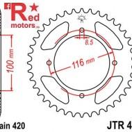 Foaie/pinion spate JTR461.54 420 cu 54 de dinti pentru Kawasaki KX 80, KX 85