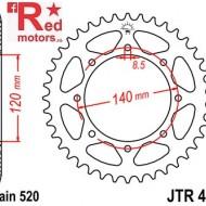 Foaie/pinion spate JTR487.44 520 cu 45 de dinti pentru Kawasaki BJ 250, KL 650, KLE 500