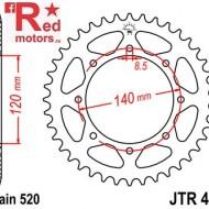 Foaie/pinion spate JTR487.45 520 cu 45 de dinti pentru Kawasaki KL 650, BJ 250, KLE 500, KLR 650
