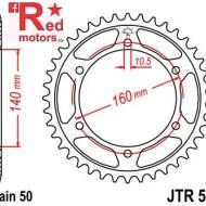 Foaie/pinion spate JTR502.49 530 cu 49 de dinti pentru Kawasaki GPX 750, GPZ 900, GPZ 1100, ZX-10 1000