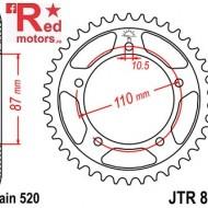 Foaie/pinion spate JTR823.49 520 cu 49 de dinti pentru Suzuki GS 500