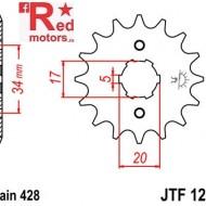 Pinion fata JTF 1264 cu 14 dinti