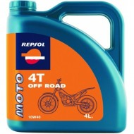 Ulei motor Repsol Moto Offroad 4T 10W40 4l