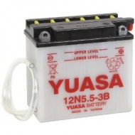 Acumulator moto TOPLITE YUASA - 12N5,5-3B (CU INTR., NU INCL. ACID)