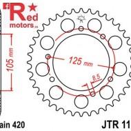 Foaie/pinion spate JTR1131.62 420 cu 62 de dinti pentru Aprilia RX 50, Derbi Senda 50