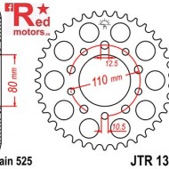 Foaie/pinion spate JTR1332.40 525 cu 40 de dinti pentru Honda CB 450, 500
