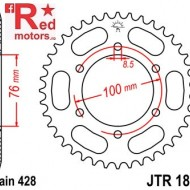 Foaie/pinion spate JTR1844.40 428 cu 40 de dinti