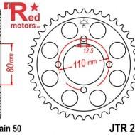 Foaie/pinion spate JTR284.39 530 cu 39 de dinti pentru Honda CB 650, CB 750