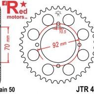 Foaie/pinion spate JTR476.33 530 cu 33 de dinti pentru Kawasaki S3 400, Z 250, Z 400, Z 500