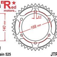 Foaie/pinion spate JTR6.42 525 cu 42 de dinti pentru BMW F 650 800