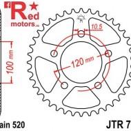 Foaie/pinion spate JTR703.44 520 cu 44 de dinti pentru Aprilia Pegaso 650, RS 125, RSV 1000