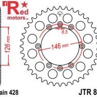 Foaie/pinion spate JTR805.50 428 cu 50 de dinti pentru Suzuki DR 125