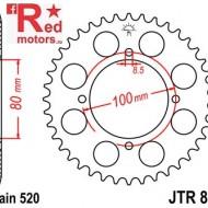 Foaie/pinion spate JTR819.46 520 cu 46 de dinti pentru Suzuki GN 250, GSX 250