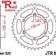 Foaie/pinion spate JTR846.45 520 cu 45 de dinti pentru Yamaha RD 350, SRX 600, XJR 400
