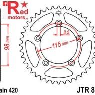 Foaie/pinion spate JTR894.46 420 cu 46 de dinti pentru KTM SX 60, SX 65