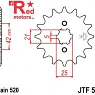 Pinion fata JTF 569 cu 10 dinti