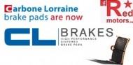 Placute frana fata Carbone Lorraine-CL Brakes XBK5 74,4x47x7,9 pentru Honda CB 1000, CBR 600, CBR 1000, VFR 800