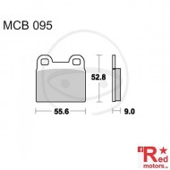 Placute frana fata STD TRW ALTN 55.6x52.8x9 MCB095 pentru BMW R 45, R 65