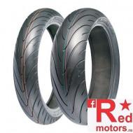Set anvelope/cauciucuri moto Michelin Pilot Road 2 120/70 R17 58W + 180/55 R17 73W