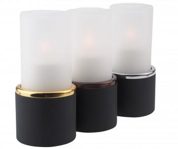 Lampa tip lumanare - T1 negru