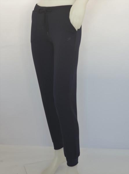 Pantalon Dama Conic cu manseta 2023.Bleumarin