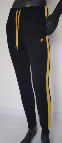 Pantalon Trening Bărbați KNOX 4053. Negru/galben