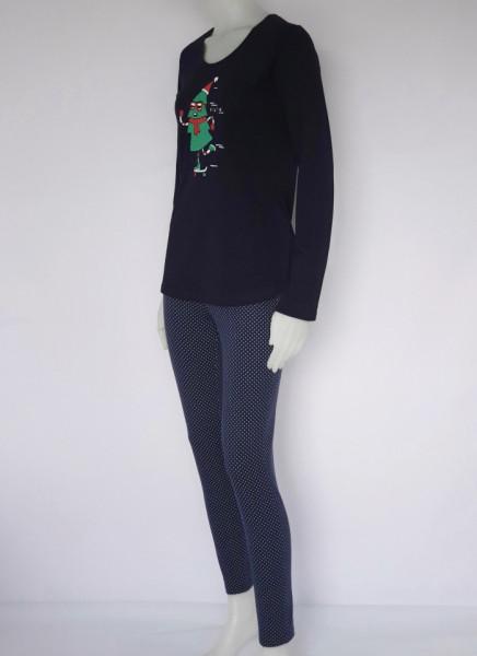 Pijama Damă Knox 2156. Bleumarin