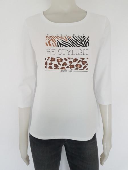 Bluza dama Knox cu Imprimeu 2326 Alb