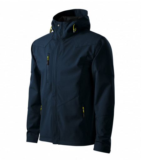Jachetă Softshell Barbaţi NANO 531 Albastru Marin