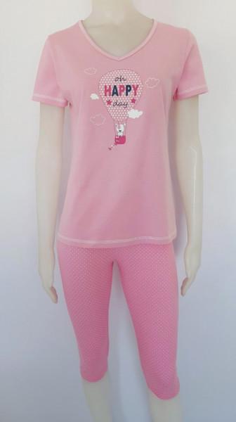 Pijama Damă 2174. Roz