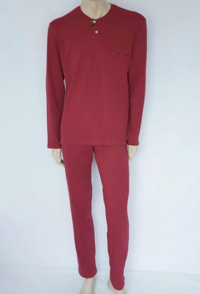 Pijama Bărbați Knox 4097. Bordo