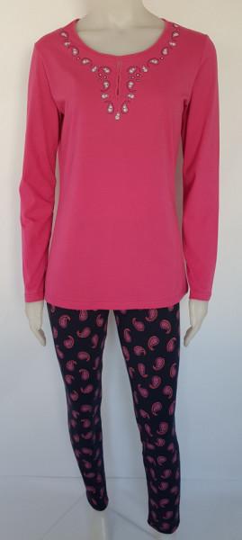Pijama Damă Clasica Knox 2181 Fuchsia