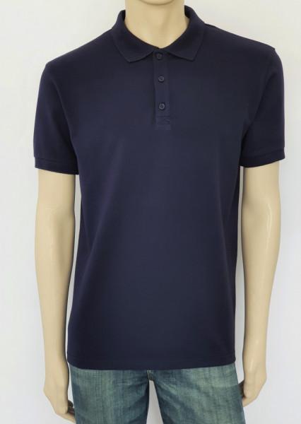 T.4510.Bleumarin, Tricou Barbati Knox Polo Pique Clasic