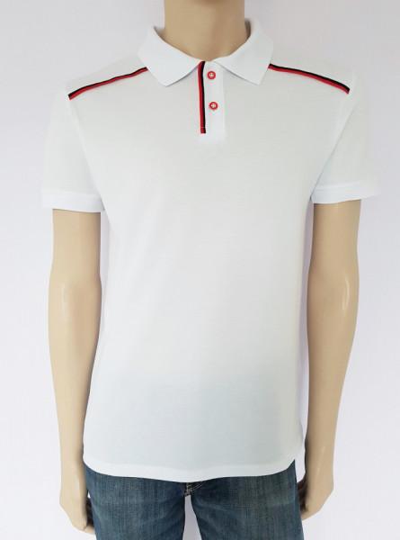 T.4513.Alb, Tricou Barbati Knox Polo Pique Clasic