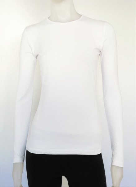 Bluza dama maneca lunga, 2001.Alb