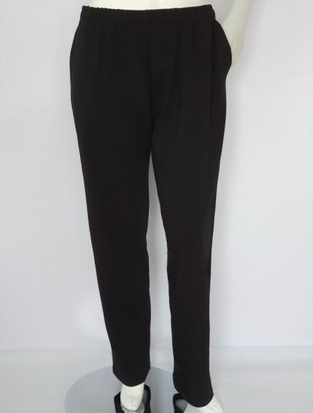 P.4007.Negru, Pantalon Trening Barbati Extra Large