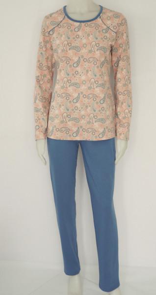 Pijama Damă Clasica Knox 2172.Piersica