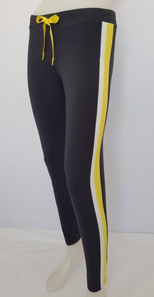 Pantalon Dama Conic.2182. Gri&Galben