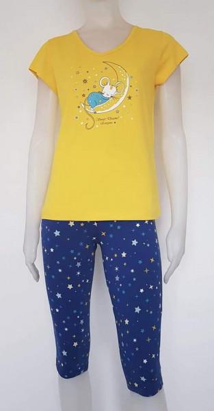 Pijama Damă 2162.Galben