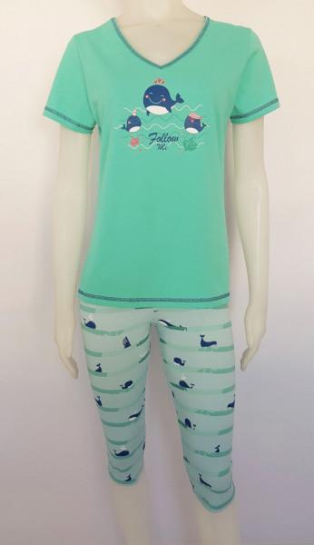 Pijama Damă 2174.Menta