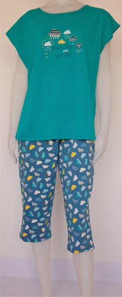 Pijama Damă EXTRA LARGE 2152.Tropical