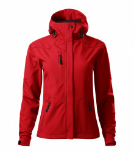 Jachetă Softshell Dama NANO532 Rosu