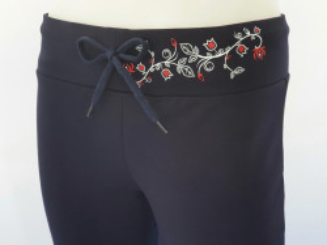 P.2002.Bleumarin, Pantalon Dama Clasic