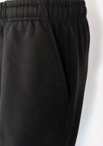 P4001.Negru, Pantalon Trening Bărbați CLASIC