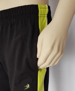 Pantalon Bărbați 1/2 4059.Negru&Acid
