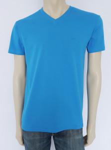 Tricou Barbati CLASIC 4504.Albastru